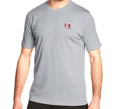 Under Armour Men's Charged Cotton Sportstyle T-shirt True Gray Heather Large 12