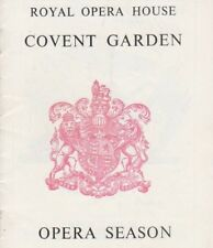 Royal Opera House, Covent Garden PROGRAMME - Queen of Spades 21 December 1950.