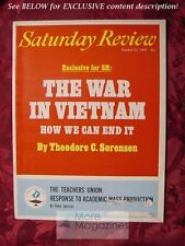 Saturday Review October 21 1967 THEODORE C SORENSEN PETER JANSSEN