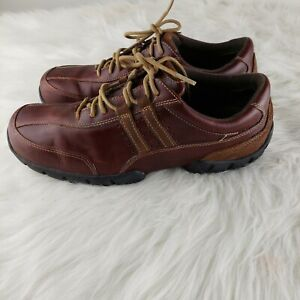 Rockport Colfax XCS  Men's Leather Sneakers Shoes Size 10M Brown Lace-up Walking