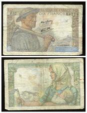 10 francs MINEUR  09/09/1943   ( F 57 )