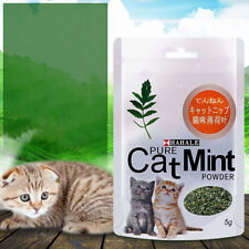 KF_ 5g Effective Cat Mint Powder Natural Catnip Pet Mouth Cleaning Aid Candy