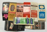 Vintage Matchbook Cover Liquor Beer Lot of 9 Milwaukee Lincoln St Louis Etc 356