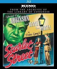 Scarlet Street Kino Blu-ray 2012 Film Noir D. Fritz Lang w EG Robinson 1945 New.