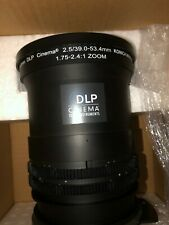 Konica Minolta 1.75-2.4 Zoom Lens_DLP Cinema_Christie