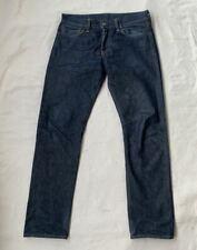 Levis 511 Selvedge Rigid Jeans Size 33 x 32