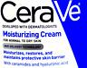 2X60ml cerave moisturizing cream for normal to dry skin repair & restore eczema