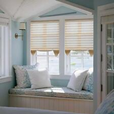 """28"""" x 51"""" Light Filtering Pleated Fabric Shades Blinds For Windows"""