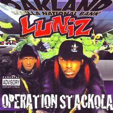 LUNIZ OPERATION STACKOLA CD Album EX/MINT/MINT (EXPLICIT) *