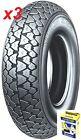 N°3 pneum 100/90-10 56J TL/TT Michelin S83 + camera Michelin APE50 dot 2016/17
