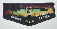 Boy Scout OA 561 Penateka Lodge Purple Border Flap