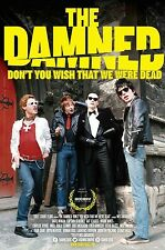 THE DAMNED: DON'T YOU WISH THAT WE WERE DEAD OFFICIAL MOVIE POSTER DOCUMENTARY