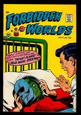 American Comics Group FORBIDDEN WORLDS #117 FN+ 6.5