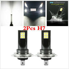 1 Pair White H7 LED Fog Lights 60W 16000LM Car Driving DRL Lamp Headlight Kits