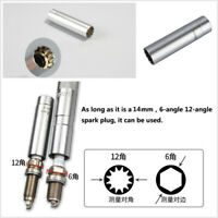 Auto Alloy Steel Magnetic Spark Plug Socket Wrench 14mm Spark Plug Removal Tool