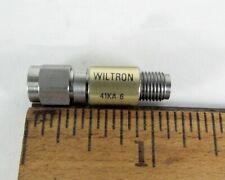 Wiltron 41KA-6 Attenuator Precision SMA Male to Female 6 dB 2 Watts