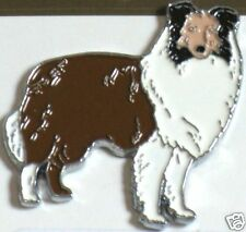 12089 Rough Haired Collie Dog Pin Badge