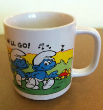 Smurf Mug, Vintage Collectible1981, Peyo, Very Good Condition