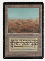 Magic the Gathering Beta MTG Scrubland Magic Rare