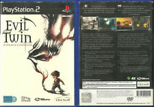 JEU PlayStation 2 PS2 - EVIL TWIN / FRANCAIS