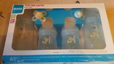 Mam Baby 0+ Months Bottles and Pacifiers Gift Set 6pc New