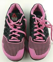 Reebok Crossfit Nano 4.0 Women's Size 7 Black / Electro Pink Shoes M41331 #233