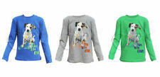 Unbranded Boys' Long Sleeve Sleeve Crew Neck T-Shirts & Tops (2-16 Years)