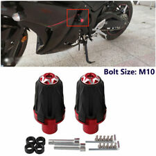 Pair Motorcycle Frame Slider Crash Protector For 10MM Sport Bike Off-road Bike