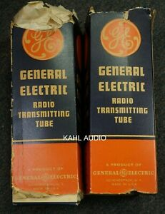General Electric VT-4-C/211 power tubes. 1 pair. NOS. $995 only!
