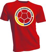 Seleccion Colombia Men's T Tee Shirt Team Calcamonia Cali Nacional Bogota Futbol