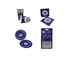Chelsea FC Tableware Party Pack for 16 Birthday Party - 96 piece