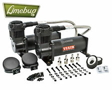 VIAIR 444c Stealth Black Dual Pack 12 Volt kit compressore d'aria (200psi) Air Ride