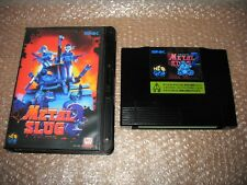 METAL SLUG 2 NEO GEO HOME CART AES IMPORT CONVERSION FOR CONSOLE