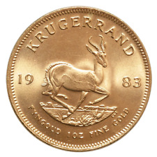 1983 South African Gold Krugerrand 1 oz Uncirculated