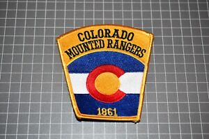 Colorado Mounted Rangers Patch (S01-2)