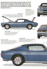1970 Chevy Camaro SS396 Article - Must See !! - SS 396