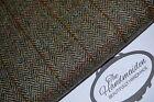 Harris Tweed Tissu & étiquettes 100% LAINE TARTAN EN ÉPI Tapisserie patchwork 1