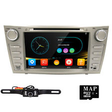 "8"" Toyota Camry/Aurion 2007-2011 GPS Navigation Car Stereo DVD SD Player+Camera"