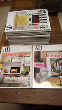 AD Architectural Digest les plus belles maisons du monde - lot de 15 revues + 2