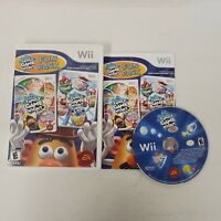 Hasbro Family Game Night Fun Pack 2 + 3 (Nintendo Wii 2011) Complete RARE TESTED