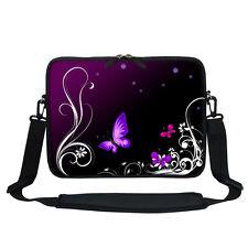 Neoprene Laptop Bag Case with Shoulder Strap Fit  Chromebook Netbook 2702