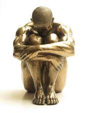 Erotische Figur Männerakt Figur Skulptur mit Kalt Bronze überzogen Akt - 20193
