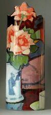 "Vaso da museo - "" Samuel John Peploe - FUCSIA ROSES "" - PRATICI Designer - NUOVO"