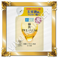 Japan Rohto Hadalabo Gokujyun PREMIUM Hyaluronic Acid Milky Lotion 140mL Refill
