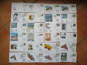 Bund - Jahrgang 1992 Nr. 1582 -1644 überkomplett auf Künstler-FDC - ansehen!!