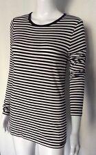 New Michael Kors Women's Long Sleeve Stripe Top size M