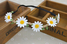 FASHION BOHO HIPPY Headband Floral Hair Band Woman Crown headband DAISY FLOWER