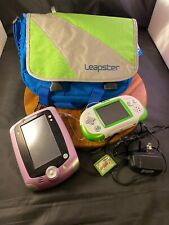 LeapPad 2 + Leapster Explorer + 4 Games + Carry Bag