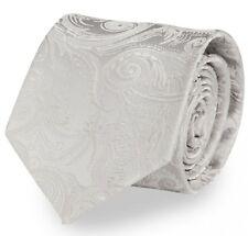 Krawatte Von Fabio Farini Paisley In Silber