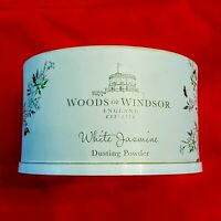 Woods of Windsor White Jasmine Dusting Powder 3.5 oz Container Sealed NO Puffer